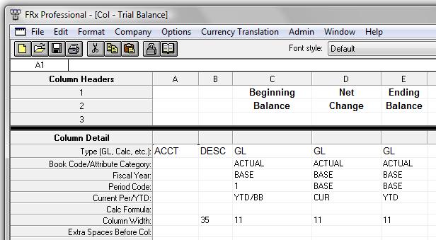 Dynamics Gp Trial Balance In Excel Using Frx Victoria Yudin