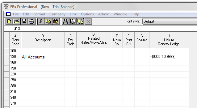 Dynamics Gp Trial Balance In Excel Using Frx Victoria Yudin