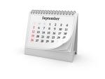 Calendar. September 2010.