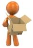 Orange man box