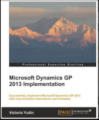 Dynamics GP 2013 Implementation